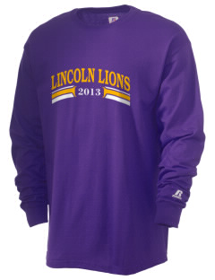 Lincoln Elementary School Lincoln Lions  Russell Men's Long Sleeve T-Shirt