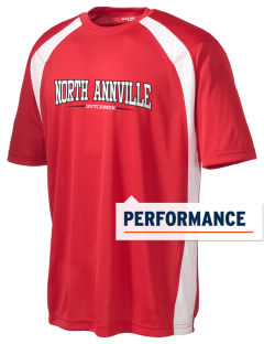North Annville Elementary School Dutchmen Men's Dry Zone Colorblock T-Shirt