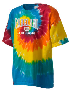 Parkland High School Trojans Kid's Tie-Dye T-Shirt