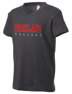 Parkland High School Trojans Kid's V-Neck Jersey T-Shirt
