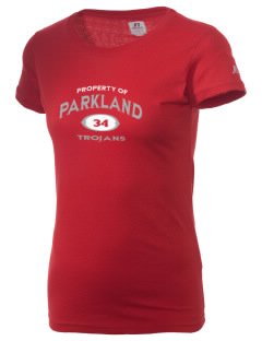 Parkland High School Trojans  Russell Women's Campus T-Shirt