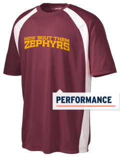 George D Steckel Elementary School Zephyrs Men's Dry Zone Colorblock T-Shirt