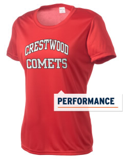 Crestwood Junior High School Comets Women's Competitor Performance T-Shirt