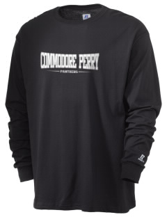 Commodore Perry High School Panthers  Russell Men's Long Sleeve T-Shirt