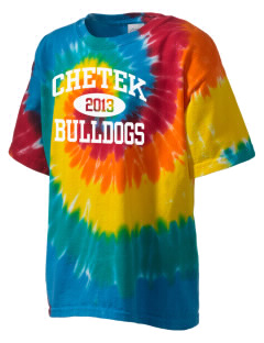 Chetek High School Bulldogs Kid's Tie-Dye T-Shirt