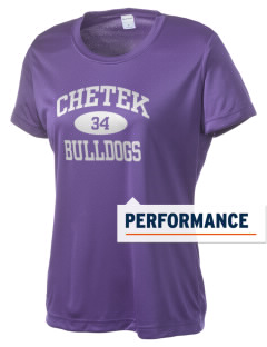Chetek High School Bulldogs Women's Competitor Performance T-Shirt