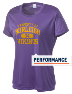 Burleigh Elementary School Vikings Women's Competitor Performance T-Shirt