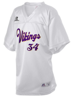 Burleigh Elementary School Vikings Russell Kid's Replica Football Jersey
