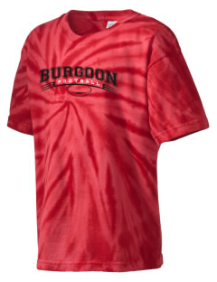 Burgoon Elementary School Burgoonies Kid's Tie-Dye T-Shirt