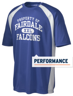 Fairdale Elementary School Falcons Men's Dry Zone Colorblock T-Shirt