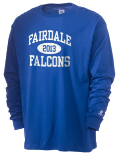 Fairdale Elementary School Falcons  Russell Men's Long Sleeve T-Shirt