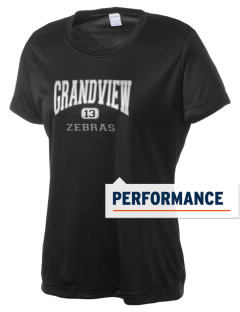 Grandview Elementary School Zebras Women's Competitor Performance T-Shirt
