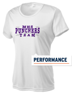 Mason High School Punchers Women's Competitor Performance T-Shirt