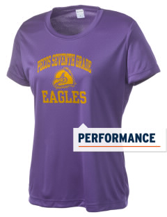 Pecos Seventh Grade School Eagles Women's Competitor Performance T-Shirt