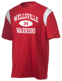 Wellsville Elementary School Warriors Holloway Men's Rush T-Shirt