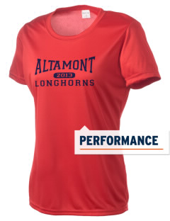 Altamont High School Longhorns Women's Competitor Performance T-Shirt
