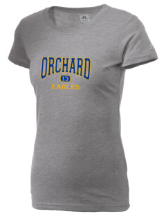 Orchard Elementary School Eagles  Russell Women's Campus T-Shirt