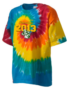 Camels Hump Middle School Crusaders Kid's Tie-Dye T-Shirt