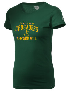 Camels Hump Middle School Crusaders  Russell Women's Campus T-Shirt