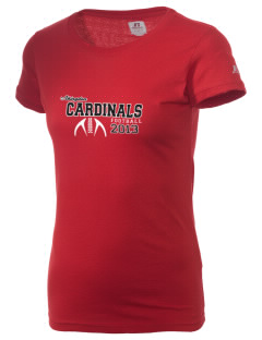 Abingdon Elementary School Cardinals  Russell Women's Campus T-Shirt