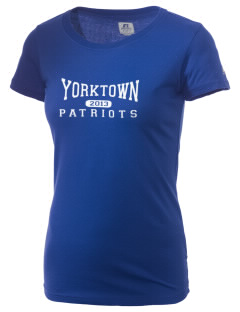 Yorktown High School Patriots  Russell Women's Campus T-Shirt