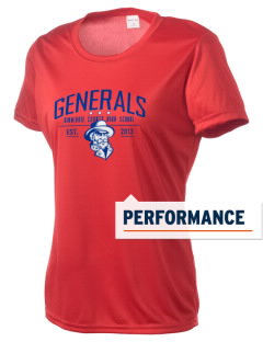 Dinwiddie County High School Generals Women's Competitor Performance T-Shirt