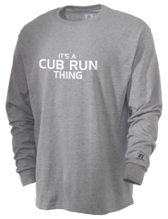 Cub Run Elementary School Bears  Russell Men's Long Sleeve T-Shirt