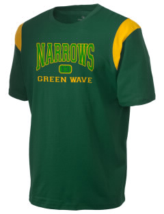 Narrows High School Green Wave Holloway Men's Rush T-Shirt