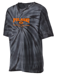Pulaski Middle School Orioles Kid's Tie-Dye T-Shirt
