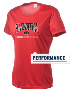 Hiawatha Elementary School Thunderbirds Women's Competitor Performance T-Shirt