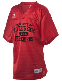 River's Edge High School Firebirds Russell Kid's Replica Football Jersey