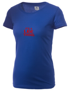 Lee Elementary School Lions  Russell Women's Campus T-Shirt