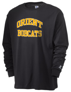 Orient Elementary School Bobcats  Russell Men's Long Sleeve T-Shirt