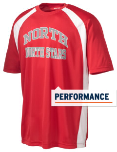 North Elementary School North Stars Men's Dry Zone Colorblock T-Shirt