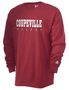 Coupeville High School Wolves  Russell Men's Long Sleeve T-Shirt