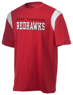 Port Townsend Senior High School Redskins Holloway Men's Rush T-Shirt
