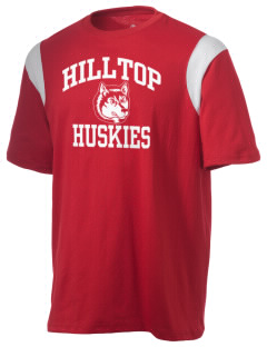 Hilltop Elementary School Huskies Holloway Men's Rush T-Shirt