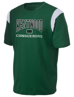 Kentwood High School Conquerors Holloway Men's Rush T-Shirt