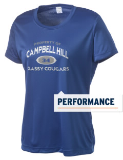 Campbell Hill Elementary School Cougars Cubs Women's Competitor Performance T-Shirt