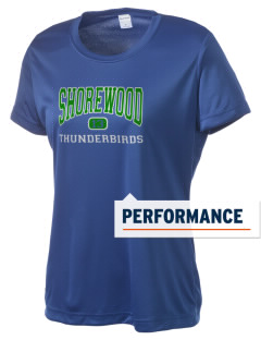 Shorewood High School Thunderbirds Women's Competitor Performance T-Shirt