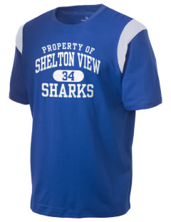 Shelton View Elementary School Sharks Holloway Men's Rush T-Shirt