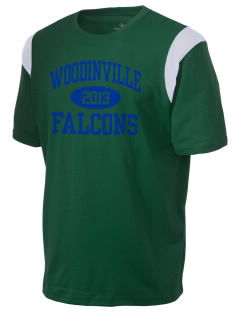 Woodinville High School Falcons Holloway Men's Rush T-Shirt