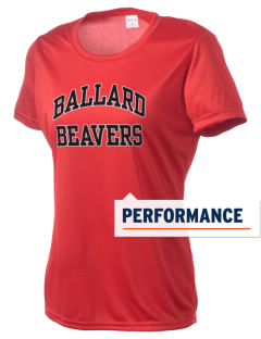 Ballard High School Beavers Women's Competitor Performance T-Shirt