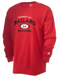 Ballard High School Beavers  Russell Men's Long Sleeve T-Shirt