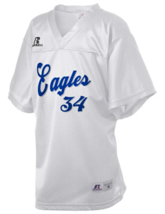 Olympic View Elementary School Eagles Russell Kid's Replica Football Jersey