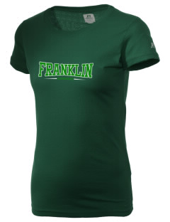 Franklin High School Quakers  Russell Women's Campus T-Shirt