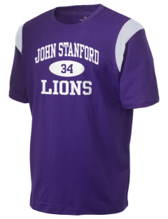 John Stanford International School Lions Holloway Men's Rush T-Shirt