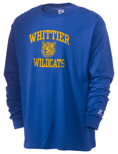 Whittier Elementary School Wildcats  Russell Men's Long Sleeve T-Shirt