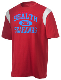 Sealth High School Seahawks Holloway Men's Rush T-Shirt