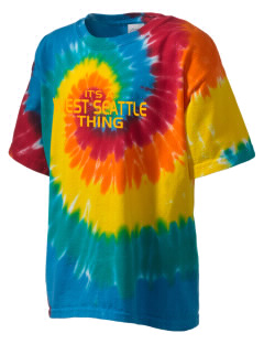 West Seattle High School Wildcats Kid's Tie-Dye T-Shirt